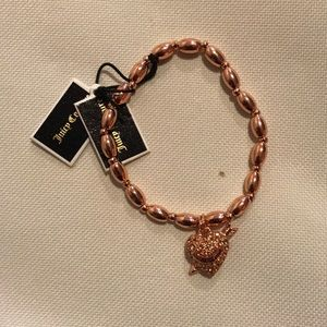 Juicy Couture stretch Rose Gold Bracelet